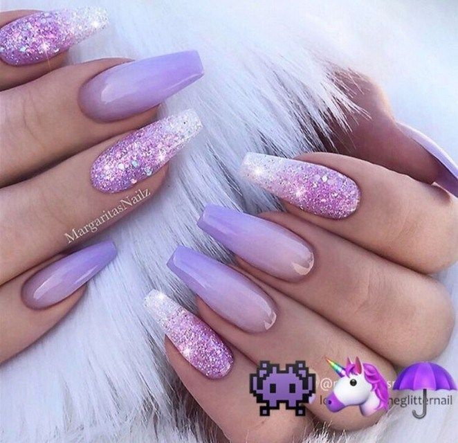 40 Wonderful Acrylic Coffin Nails Design In Summer 2019 Page 34