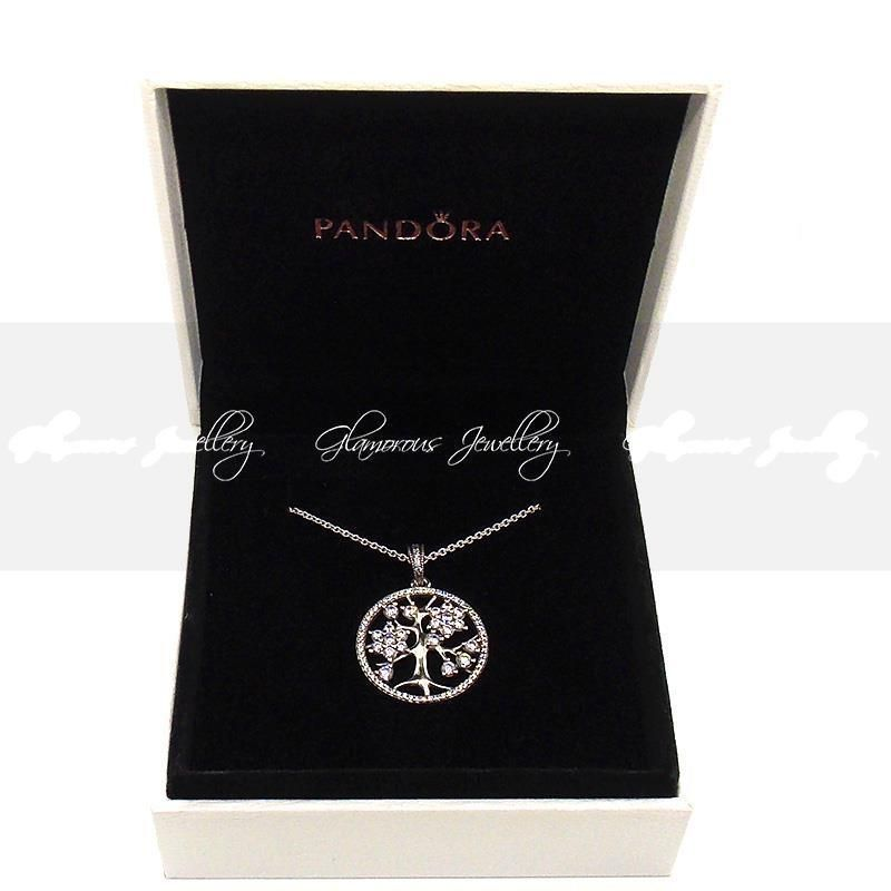 Genuine Pandora Family Tree Necklace In Pandora Box Family Tree Necklace Pandora Family Pandora Necklace