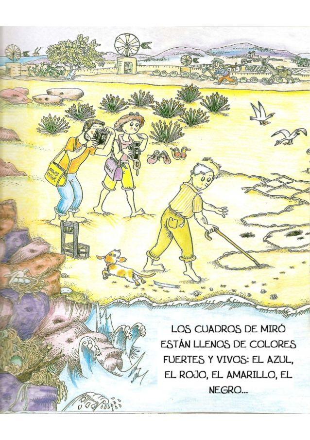 La Pequeña Historia De Joan Miro Joan Miro Vintage World Maps Miro