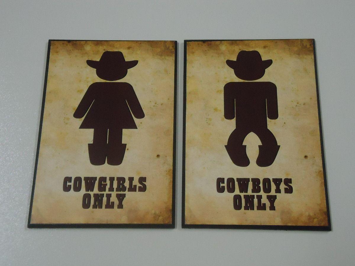 Lei Banheiro Masculino Feminino : Placa banheiro masculino e feminino par frete gr?tis