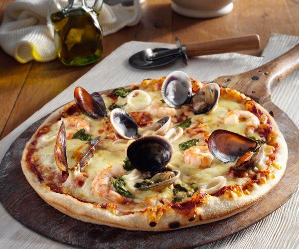 pizza fruit de mer regime