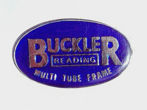 113 Buckler Cars Badge (1947-62) | Car badges, Badge, Things to sell