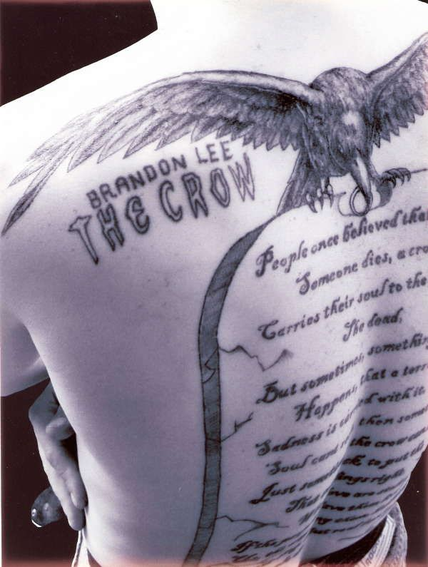 One of my next tattoos will be a quote from The Crow ...