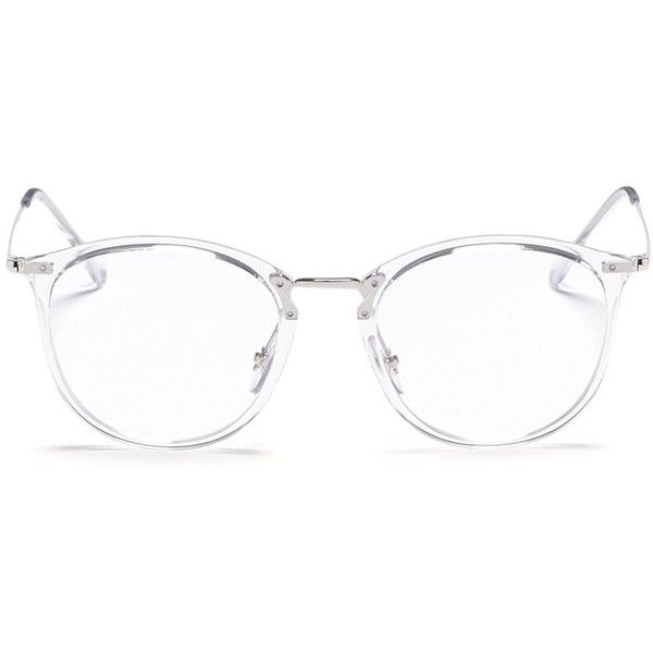 8cabff76aceed Ray-Ban  RB7140  acetate front metal Wayfarer optical glasses featuring  polyvore