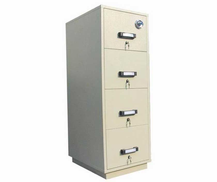 Vertical Metal Second Hand Filing Cabinets With Lock Home Office