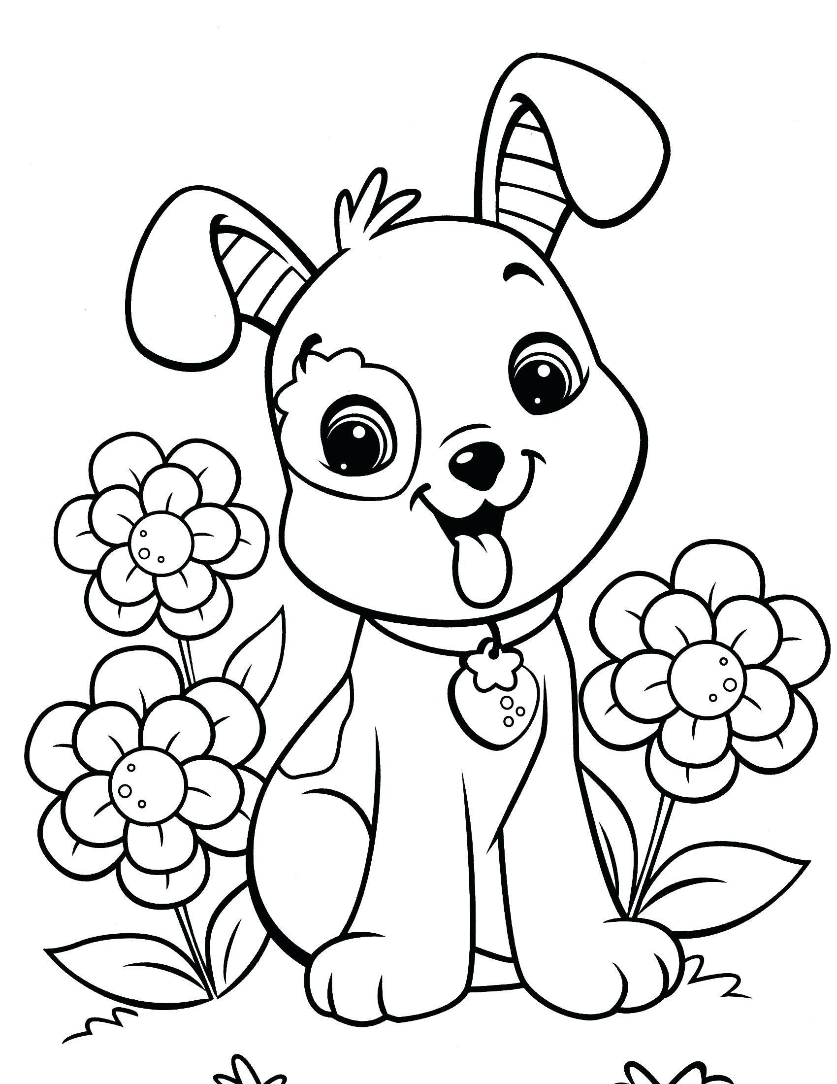 Cute Coloring Pages Easy Photos