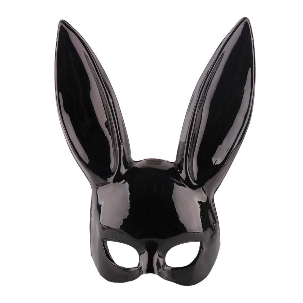 Black Rabbit ear masks, perfect for halloween or cosplay.