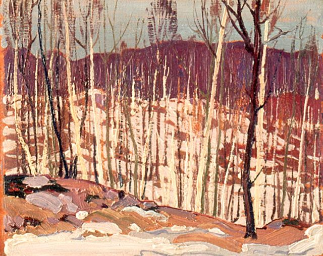 Tom Thomson Early April 1916