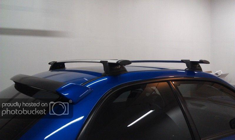Exterior Prorack Whispbar Roof Rack Installed On 06 Sti Using Rain Gutter Brackets Subaru Impreza Wrx Sti Forums Iwsti Com Roof Rack Rain Gutters Sti