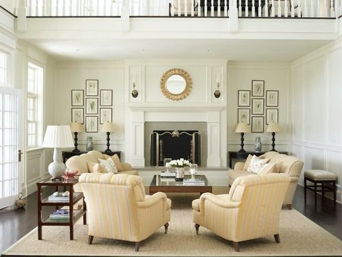 Country Houses   Traditional   Living Room   New York   Austin Patterson  Disston Architects