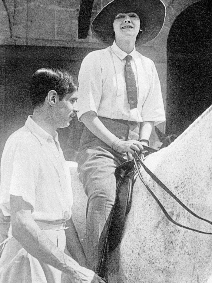arthur boy capel avec chanel au ch teau de royallieu d 39 tienne balsan 1908 ou 1913