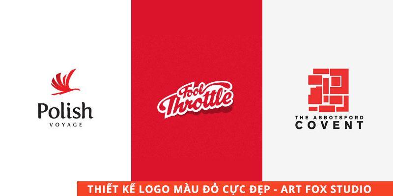 Thiết kế logo công ty chuyên nghiệp sử dụng màu đỏ chủ đạo - Red logo designs - Logo inspiration