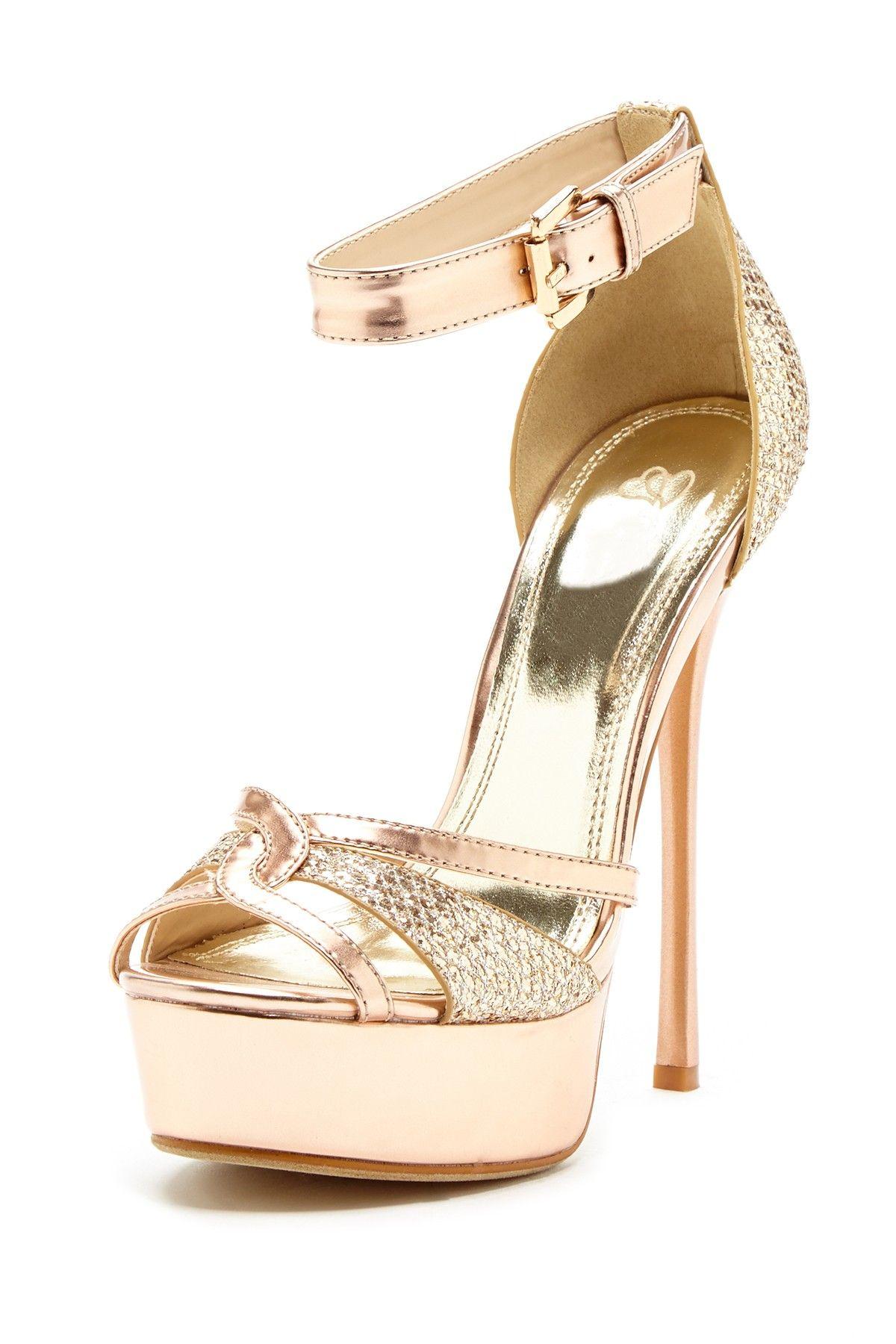 0f268f4c0ee Open Toe High Heel Sandal