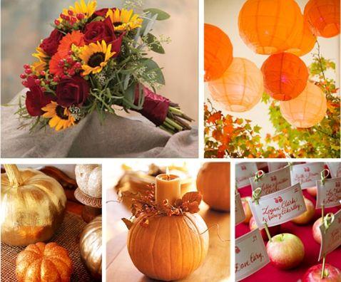 Harvest Wedding Decorations Fall Wedding Theme Decoration Ideas