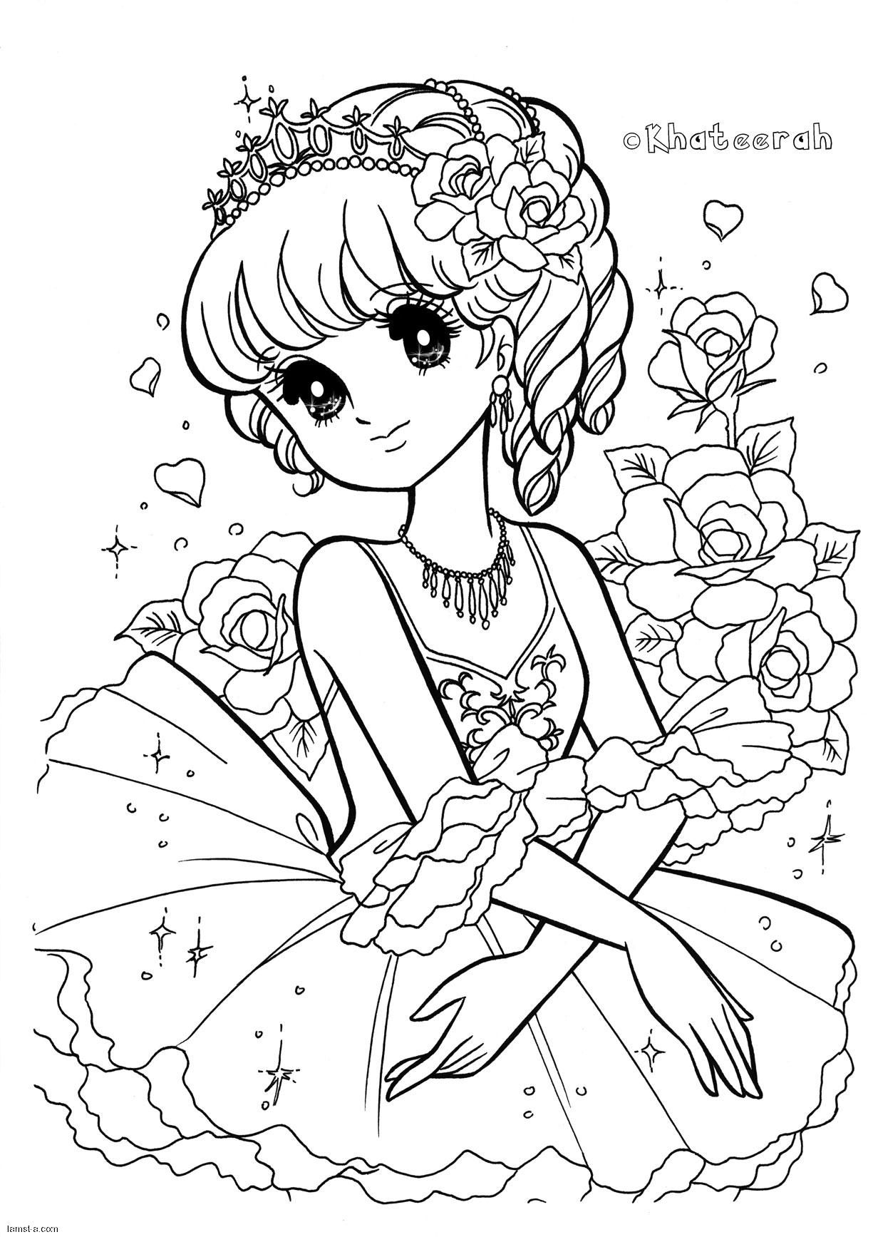 Pin By Marwa Rose On Art Cute Coloring Pages Coloring Books Coloring Pages For Girls