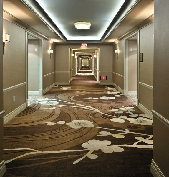 Large Scale Corridor Designs Hotel Carpet Bedroom