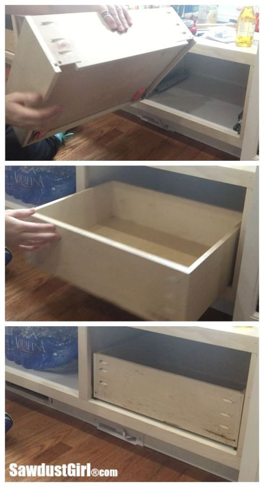 How To Build A Drawer For Blum Drawer Glides Sawdust Girl Diy