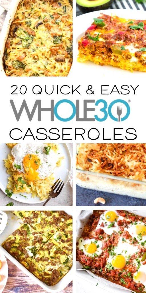 30 Whole30 Casserole Recipes - Beauty and the Benc