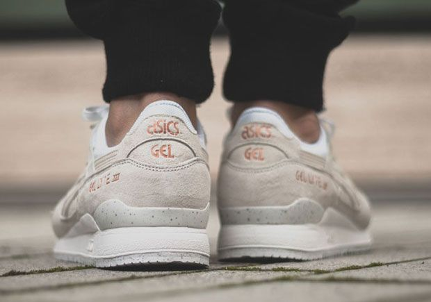 asics gel-lyte iii rose gold pack (cream white / white)