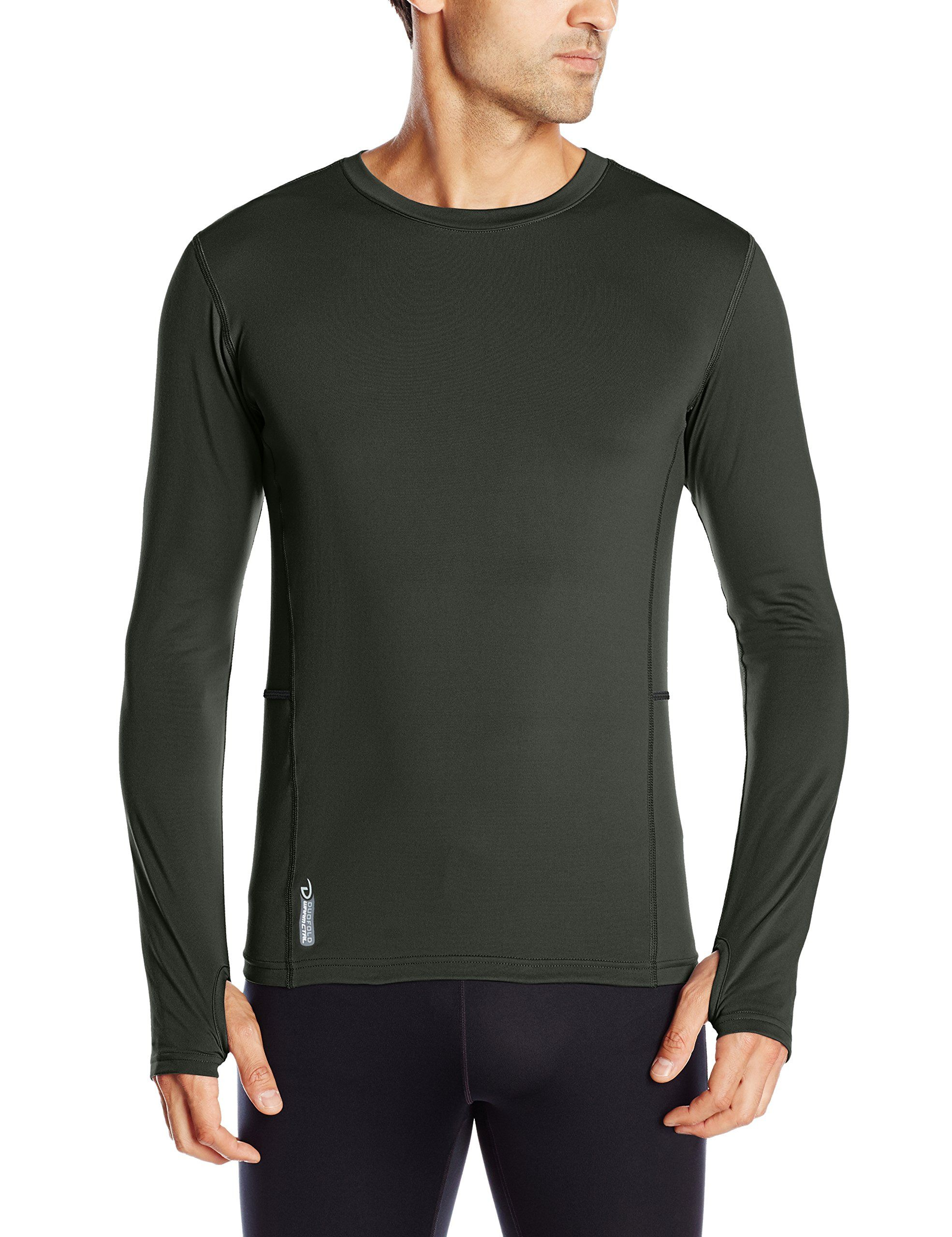 Duofold Mens Mid Weight Fleece Lined Thermal Shirt
