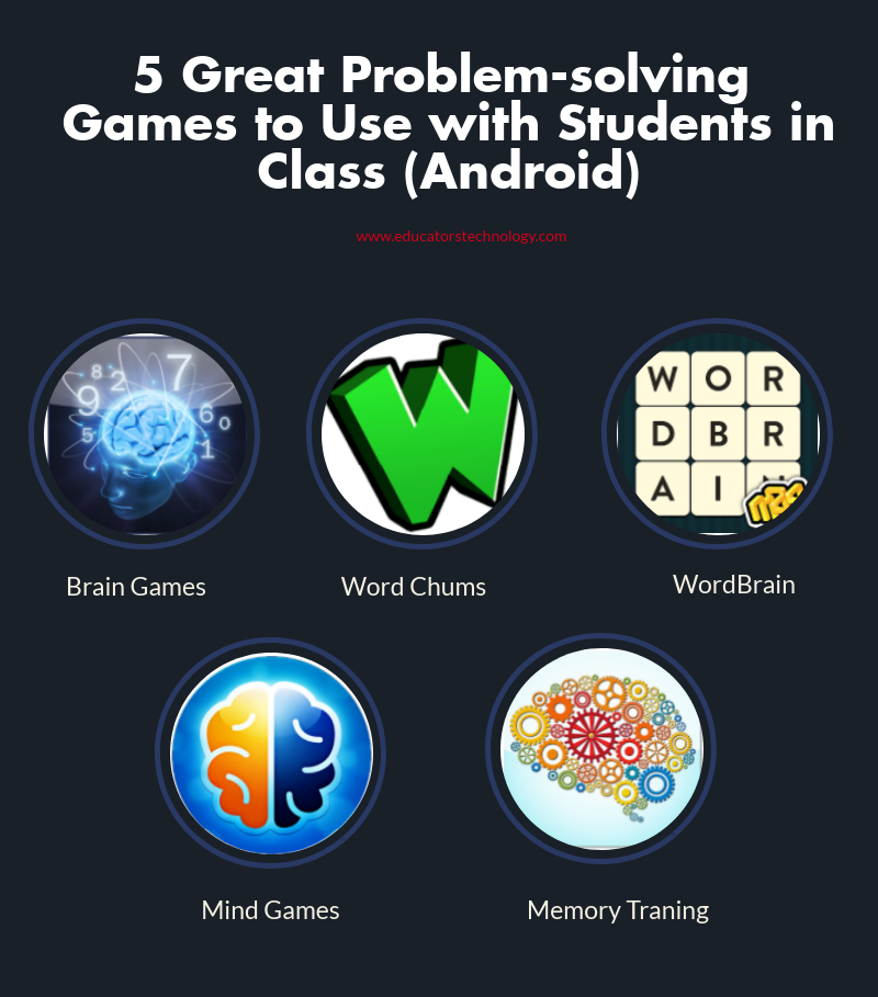 5 Great Problemsolving Games to Use with Students in