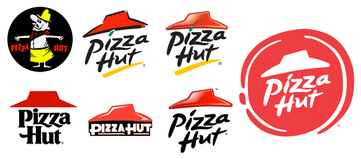 Pizza Hut Is Rebranding Starting In The Us With A New Logo Menu Items Packaging Uniforms And More But Did They Ge Logo Evolution Pizza Hut Logo Pizza Hut