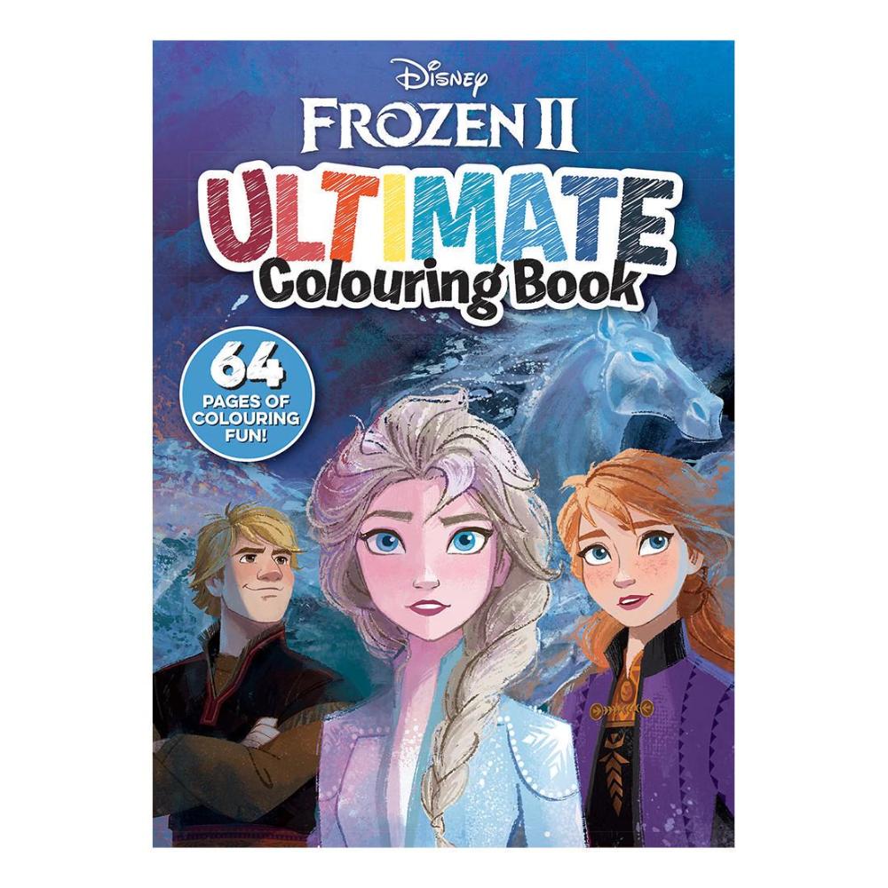 Disney Frozen 2 Ultimate Colouring Book Target Australia Coloring Books Frozen Book Books