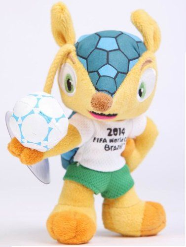 2014 World Cup Brazil Fifa Mascot Ful Mascot Plush Stuffed Animals Fifa 2014 World Cup