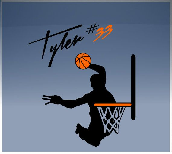 Hey, I found this really awesome Etsy listing at http://www.etsy.com/listing/152209007/wall-vinyl-decal-graphic-basketball
