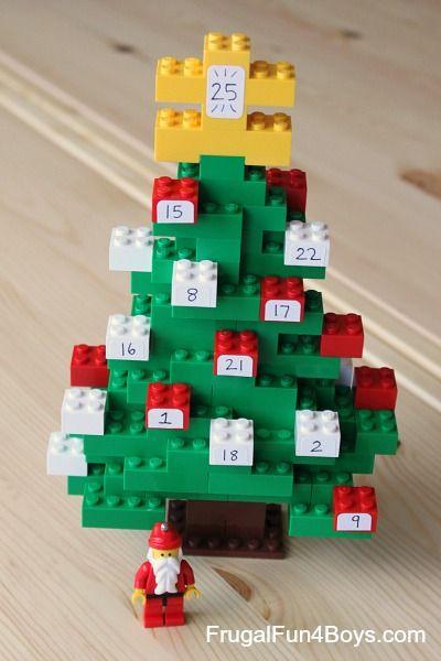 Count Down to Christmas with a DIY Lego Advent Calendar   Lego ...