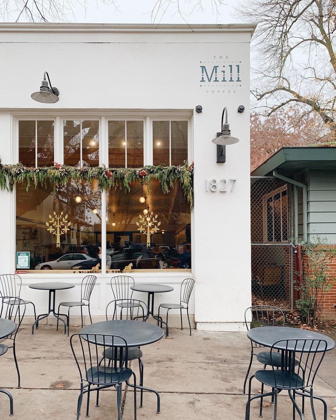 The Mill Coffee Shop Sacramento California Coffee Shop