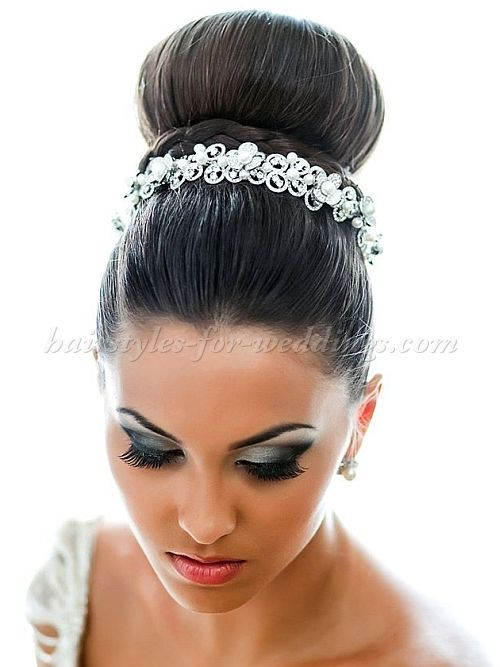 wedding hair buns styles top bun wedding hairstyle wedding hairstyles for 4831