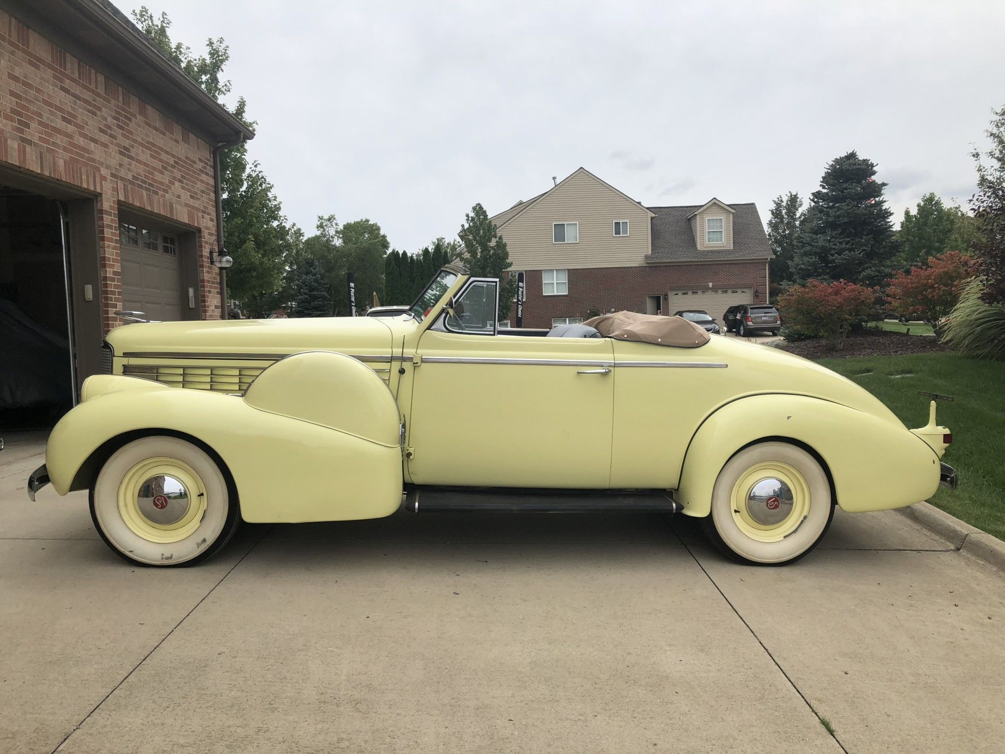 1938 Lasalle Series 50 Rumble Seat Convertible Coupe Lasalle Car Cars