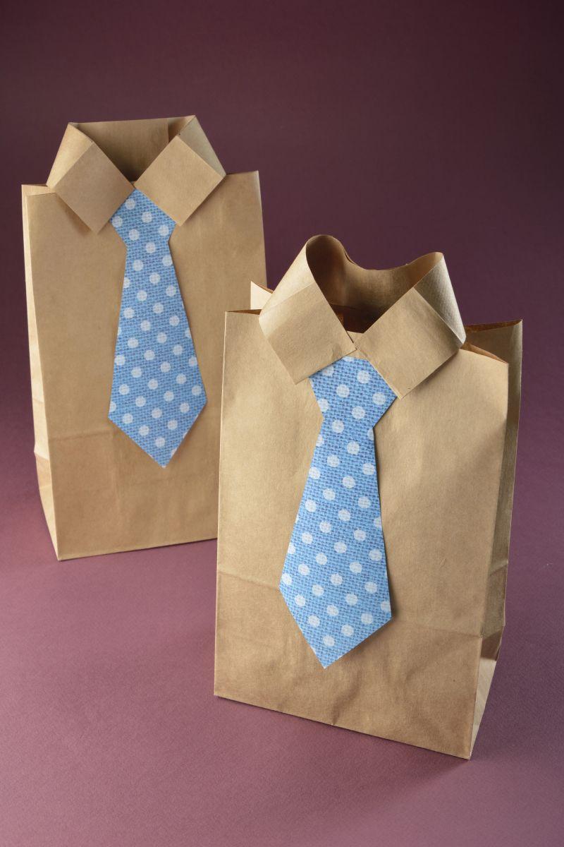 C mo hacer una bolsa para el lunch regalos para el d a - Hacer bolsas de papel para regalo ...
