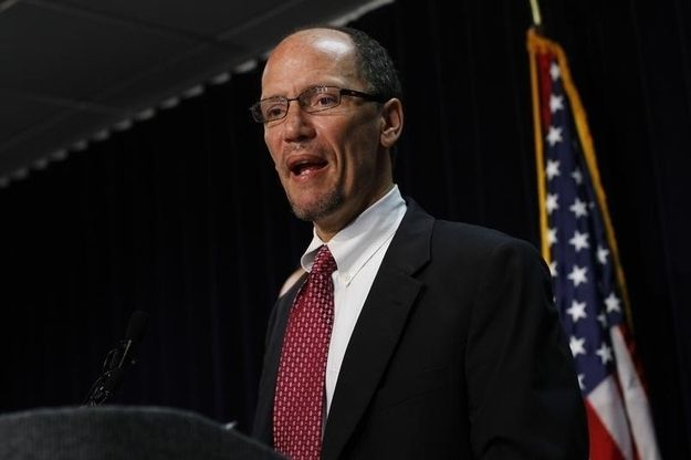 Labor Department Officials Block Reporter From Questioning Tom Perez   Free Press?