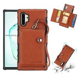 Retro Multi-function Leather Wallet Phone Case for Samsung Galaxy Note
