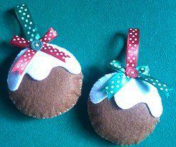 Enfeites de Natal Bolinha com Neve - 2,50€