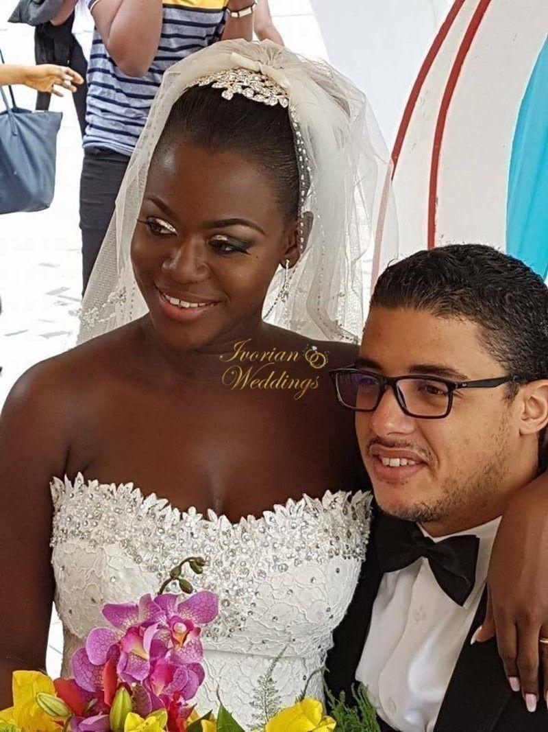 Le Mariage Romantique De Murielle Et Dimitri A Abidjan Fashion Crown Crown Jewelry