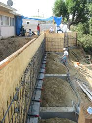 concrete retaining walls concrete retaining walls on types of walls construction id=60732