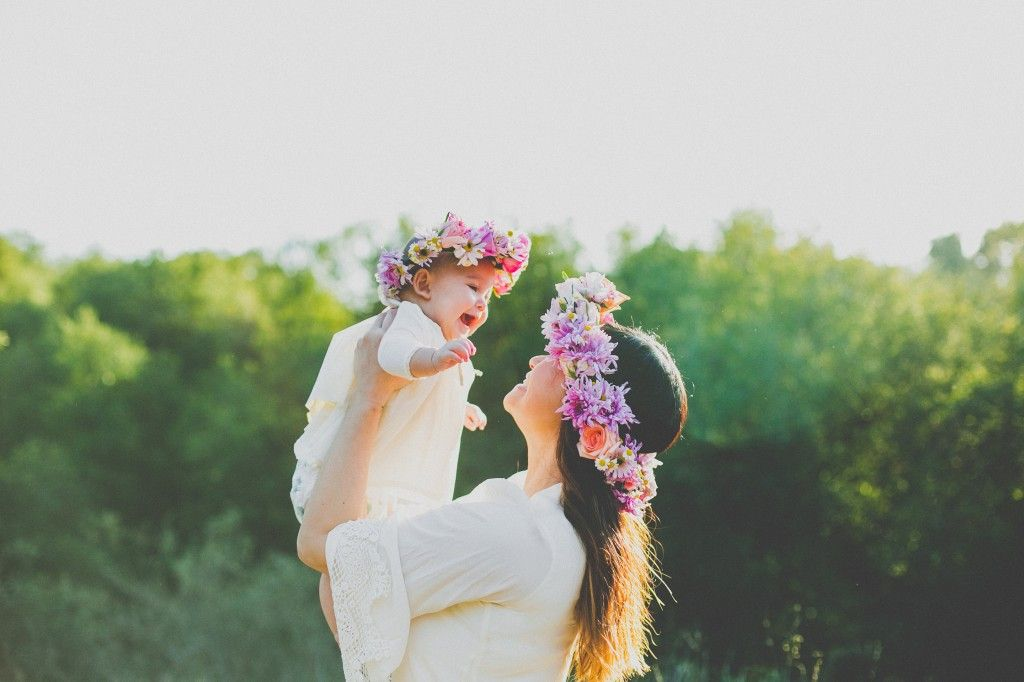 Mother daughter photography flower crowns029 | photography ...