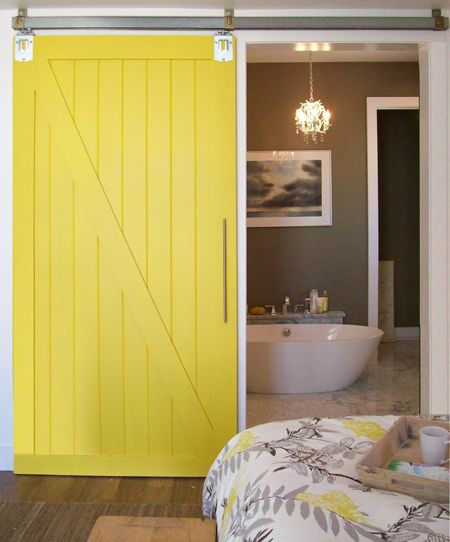 Instructions Make A Barn Style Sliding Door Or Fit Sliding Door Kit   Or  Make Sliding