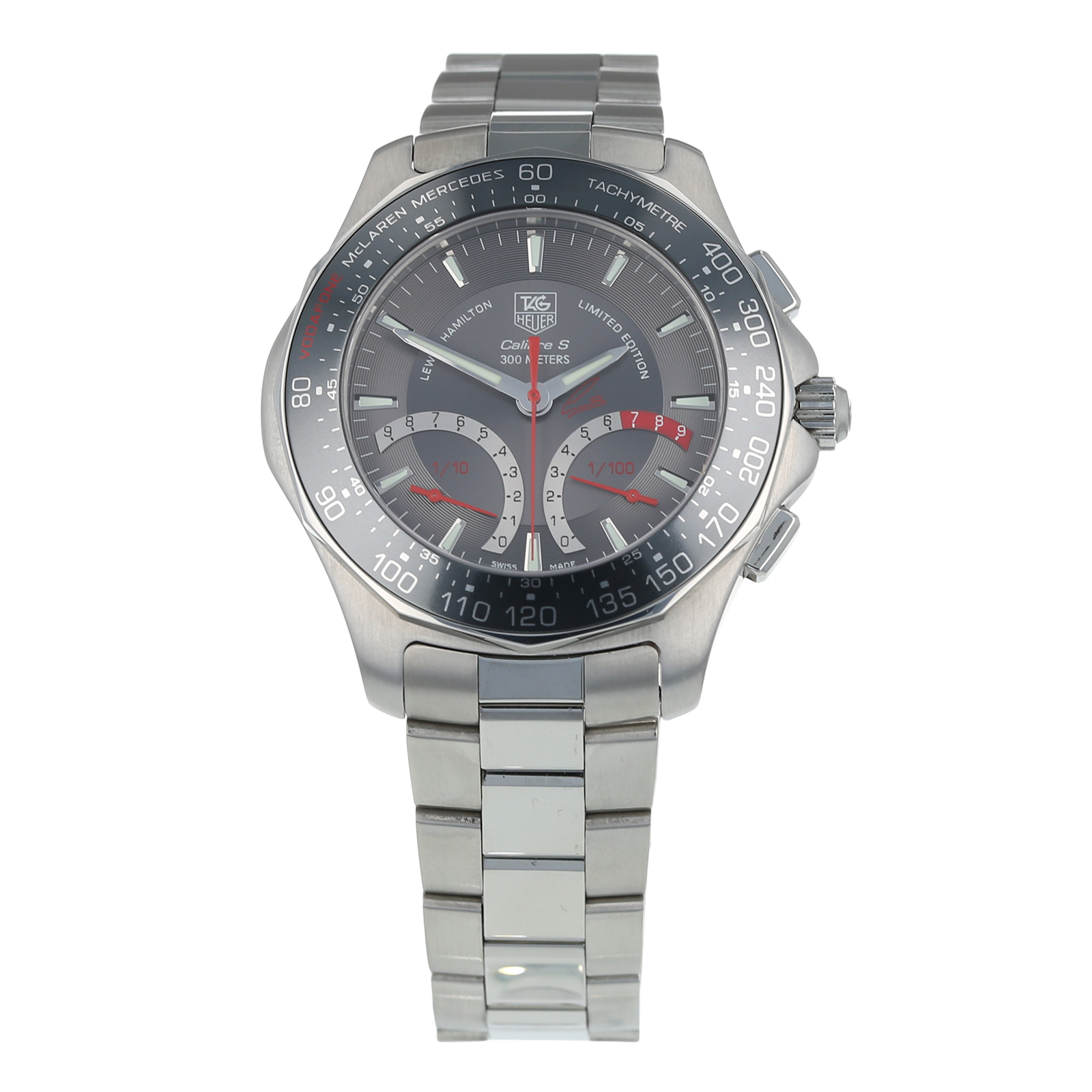 Owned Tag Heuer Aquaracer Lewis Hamilton Edition Mens Watch Caf7114