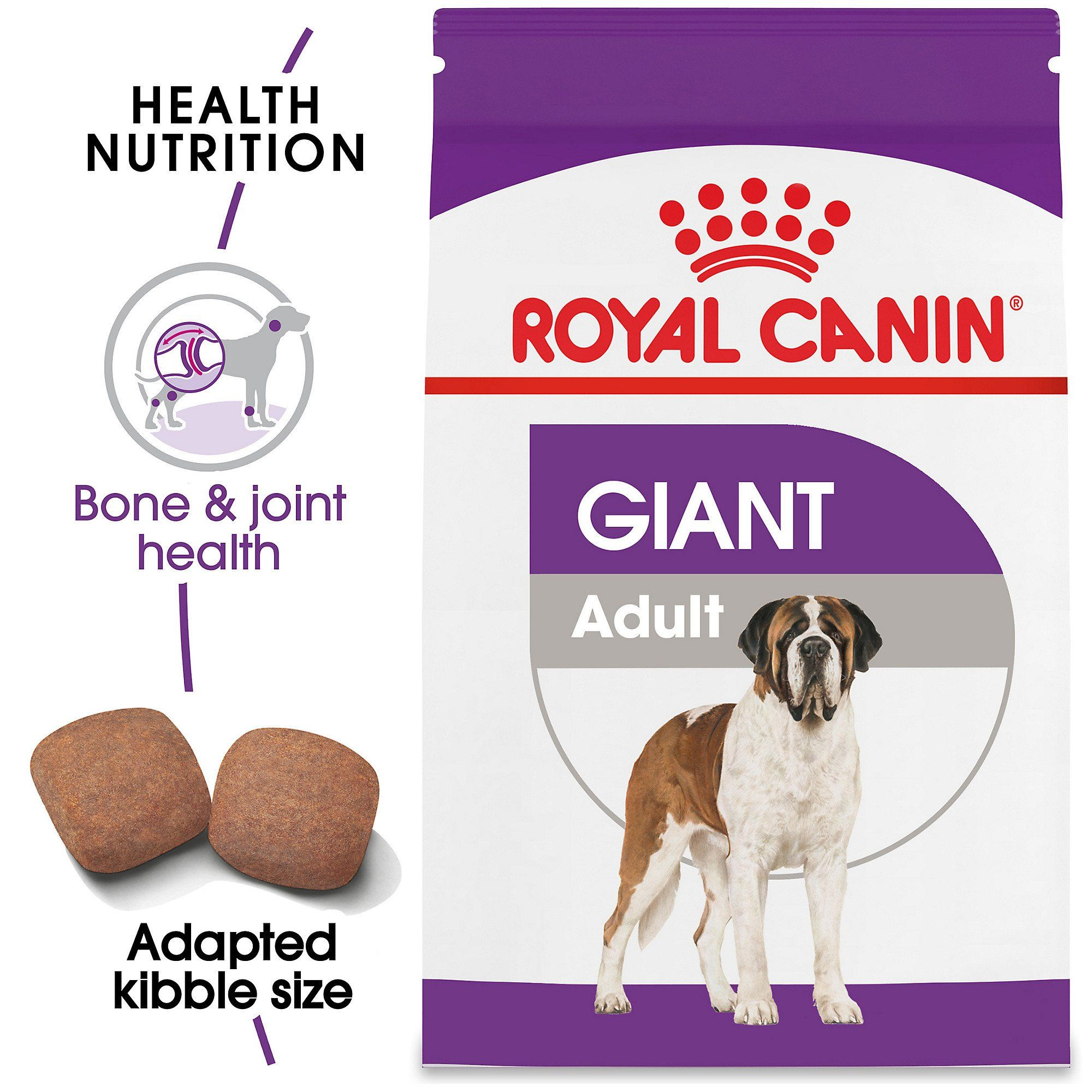 Royal Canin Size Health Nutrition Giant Adult Dry Dog Food 35 Lbs