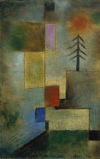 Paul Klee Kleines Tannenbild 1922 Paul Klee Kunst Tapete Klee