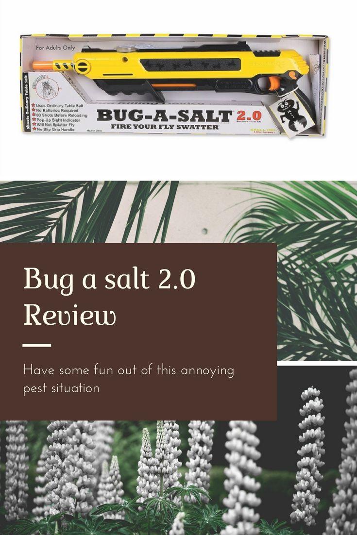 Bug A Salt 2 0 Review 2018 Pinterest Survival Guide Table Salt