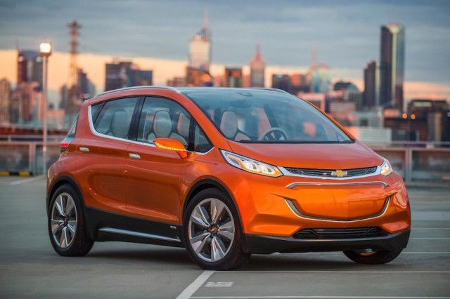 Chevrolet Bolt Is Gm S Long Range All Electric Car Chevy Bolt