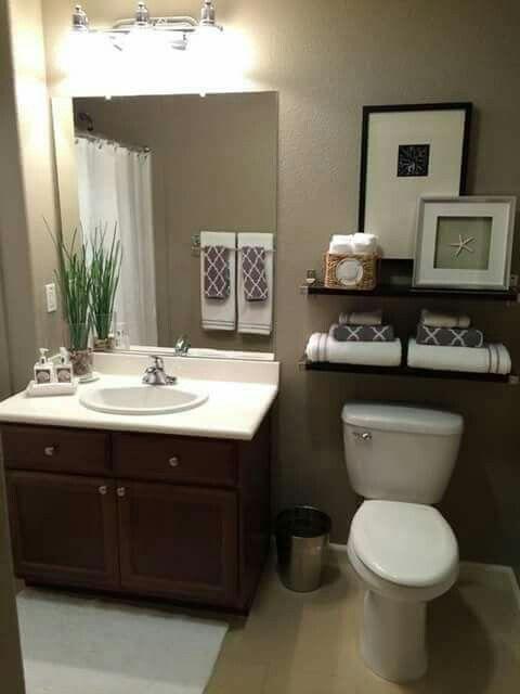 Baño pequeño distribución | interior | Cuarto de baño ...