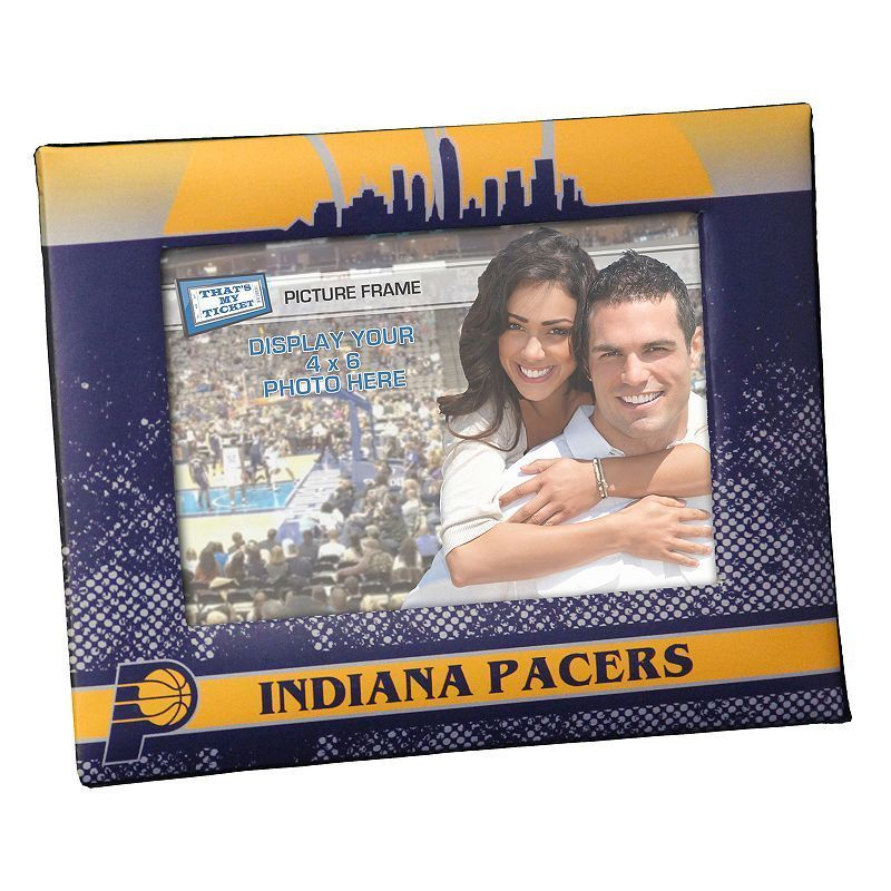 "Indiana Pacers 4"" x 6"" Vintage Picture Frame, Multicolor"