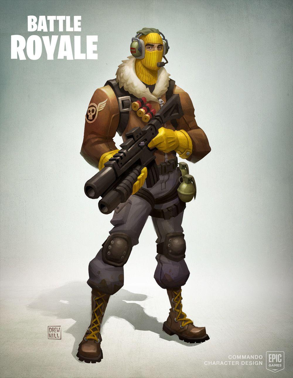 Artstation Fortnite Battle Royale Concept Art Drew Hill Games
