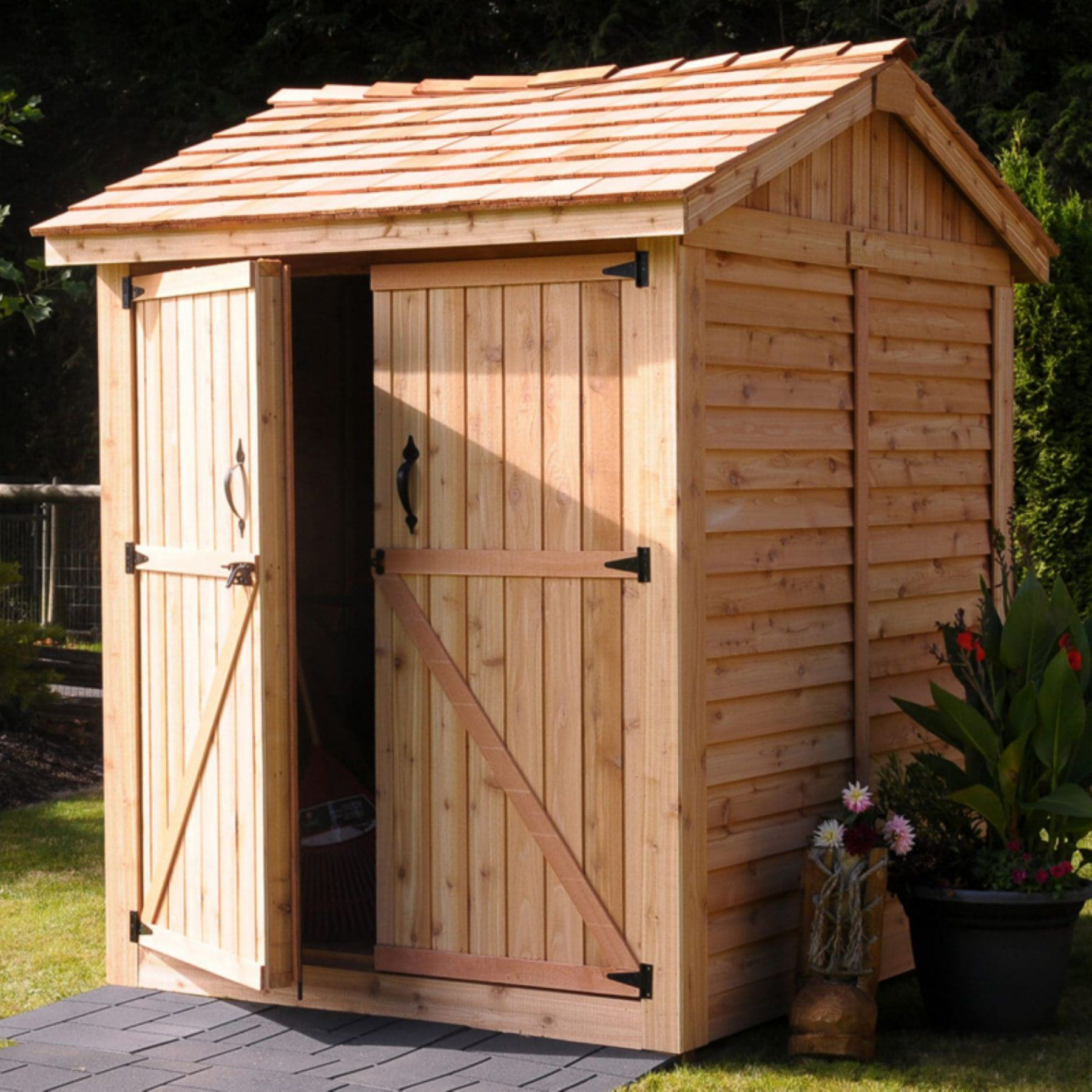 instant storage shed